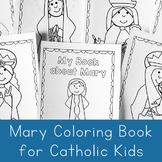 Mary Coloring Book - Catholic Coloring Book