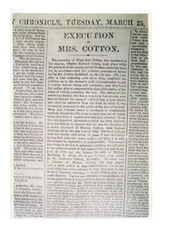 Mary Cotton Handout