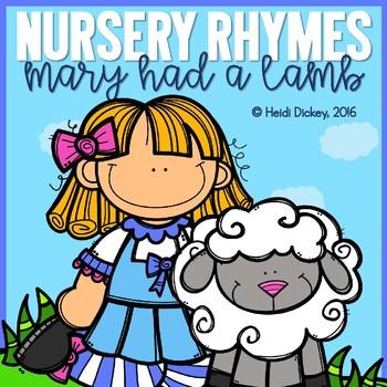 Mary Had A Little Lamb Nursery Rhyme Pack