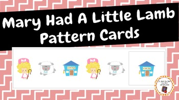 Patterns: Mary Had A Little Lamb Pattern Cards
