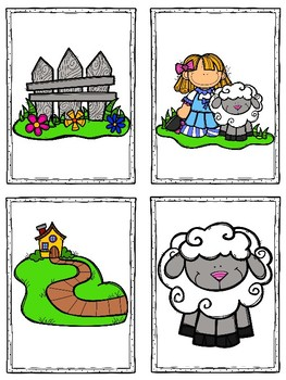 Mary Had a Little Lamb Nursery Rhyme (A Sight Word Emergent Reader)