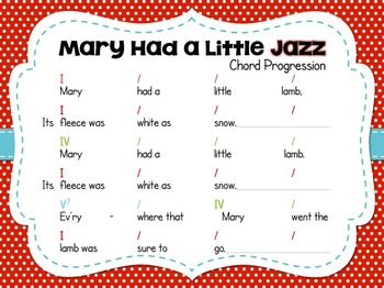 Mary Had a Little Jazz - An Activity for Pitched Percussion