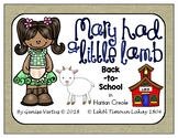 Mary Had a Little Goat Back-to-School Activities in Haitian Creole