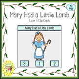 Mary Had a Little Lamb Task Cards