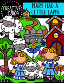 Mary Had a Little Lamb {Creative Clips Digital Clipart}