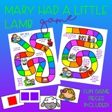 Mary Had a Little Lamb Game