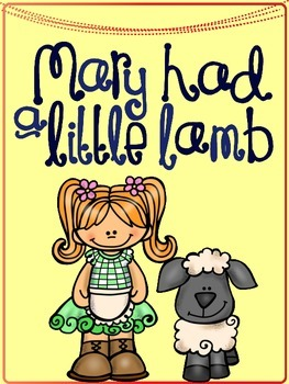 Mary Had a Little Lamb Interactive Book and Activities