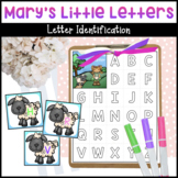 Mary Had a Little Lamb Letter Matching Activity