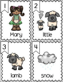 Mary Had a Little Lamb - Literacy & Math for Early Learners
