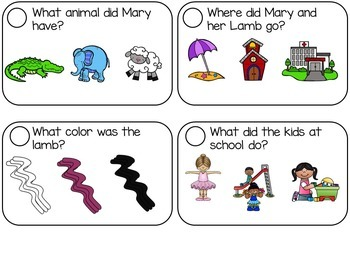 Mary Had a Little Lamb Nursery Rhyme Kit