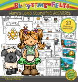 Mary Had a Little Lamb PreK Printable Worksheets