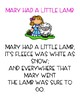 Mary Had a Little Lamb - Sequencing
