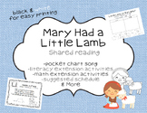 Mary Had a Little Lamb Shared Reading