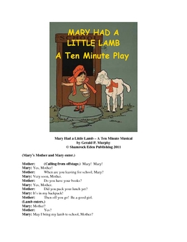 Mary Had a Little Lamb - Ten Minute Musical