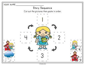 Mary Had A Little Lamb Worksheets Activities Games Printables and More