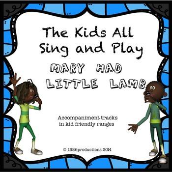 Mary Had a Little Lamb accompaniment track