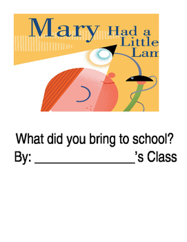 Mary Had a Little Lamp Class Book Cover