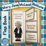 Mary Jane McLeod Bethune Writing Black History Month Proje