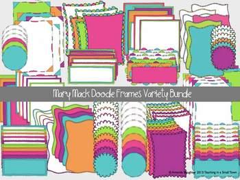 Mary Mack Doodle Variety Bundle- 128 Frames