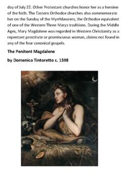 Mary Magdalene Handout
