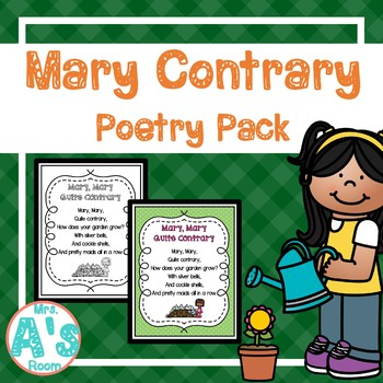 Mary, Mary, Quite Contrary Shared Reading Set