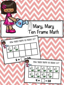Mary, Mary Ten Frame Math