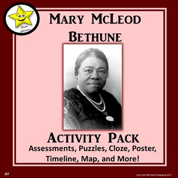 Mary McLeod Bethune Activity Pack