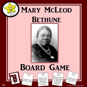 Mary McLeod Bethune Board Game