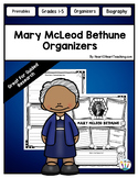 Mary McLeod Bethune Research Organizers for Women's History Month