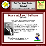 Mary McLeod Bethune Poster