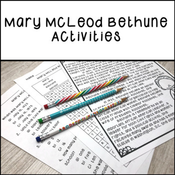 Mary McLeod Bethune Activities