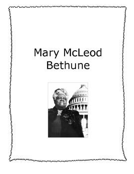 Mary McLeod Bethune - American Heroes Series