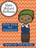 Mary McLeod Bethune Assessment Packet: Study Guide, Vocabu