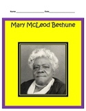 Mary McLeod Bethune BUNDLE- 3rd Grade Social Studies