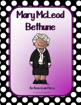 Mary McLeod Bethune BUNDLE Social Studies 2 Game Set + more
