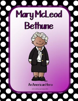 Mary McLeod Bethune BUNDLE Social Studies 2 Game Set + more