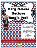 Mary McLeod Bethune Bundle Pack (Task Cards Included)
