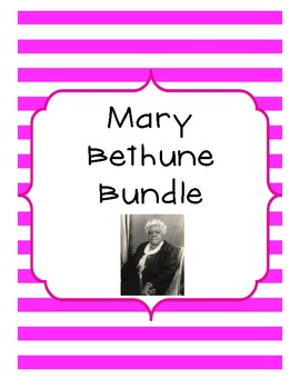 Mary McLeod Bethune Bundle with Assessment