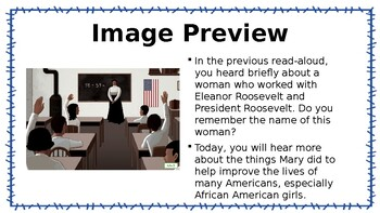 Mary McLeod Bethune CKLA L & L Domain 12 Lesson 4 POWERPOINT