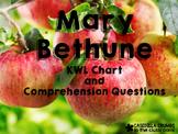 Mary McLeod Bethune KWL Chart Common Core Aligned