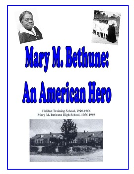 Mary McLeod Bethune Packet