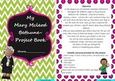 Mary McLeod Bethune Project Based Learning Activity