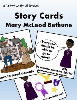 Mary McLeod Bethune Story Cards