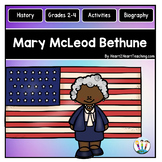Mary McLeod Bethune Unit w/Articles, Activities for Women's History Month