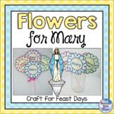 Mary, Mother of God Catholic Feast Day Flower Craft