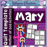 Mary, Mother of God Quilt