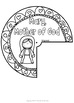 Mary, Mother of Jesus Wheel ~ Bible Theme