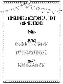 Mary Musgrive, Tomochichi, and James Oglethrope Timeline Activity