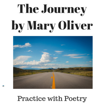 Mary Oliver's The Journey: Practice with Poetry