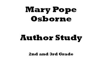 Mary Pope Osborne Author Study
